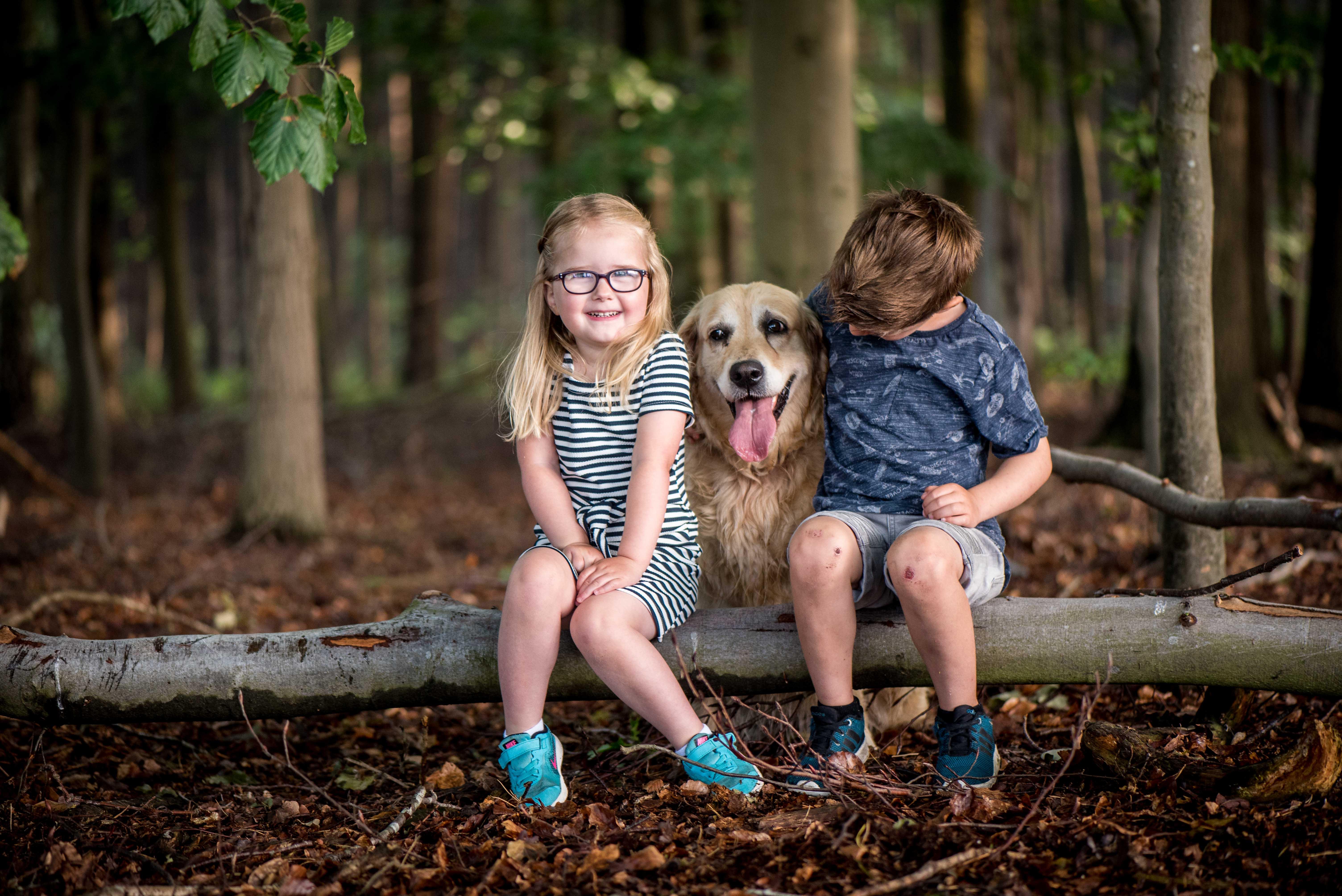 Vaderdag Cadeau Fotoshoot Kinderen Spontaan En Puur